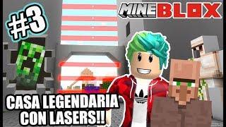 Casa Legendaria de Minecraft | Fabrica de Minecraft en Roblox 3 | Juegos Karim Juega