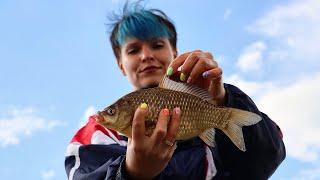 Как ПОЙМАТЬ КАРПА на ФИДЕР? Рыбалка НА РЫБХОЗЕ. Часть 1 #242