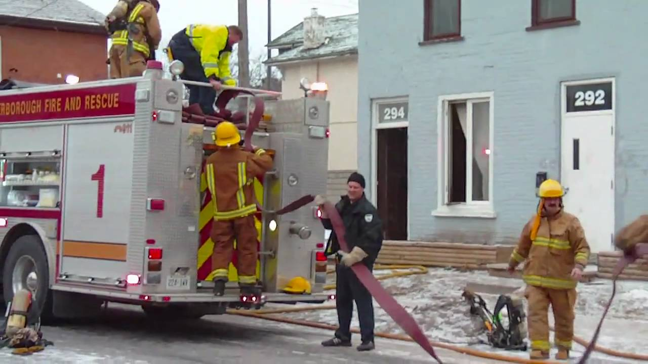 294 Dalhousie Street Apartment Rubbish Fire Peterborough Ontario Canada