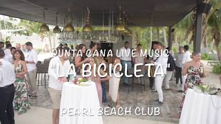 "Pearl Beach Club wedding music, sax cover ""La bicicleta"""