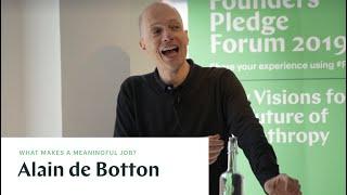 Alain de Botton: Work and Emotional Intelligence