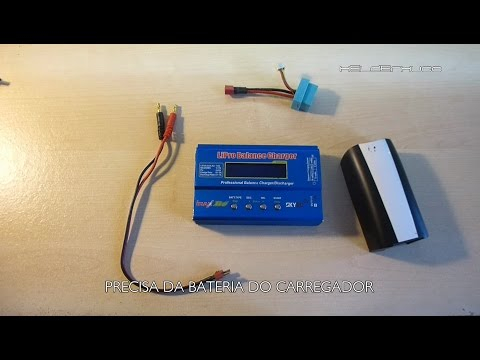 Parrot Bebop 2 Drone Battery with iMax B 6 SKYrc charger