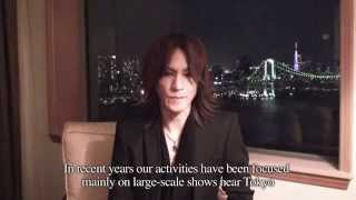 Message from SUGIZO toward 25th ANNIVERSARY