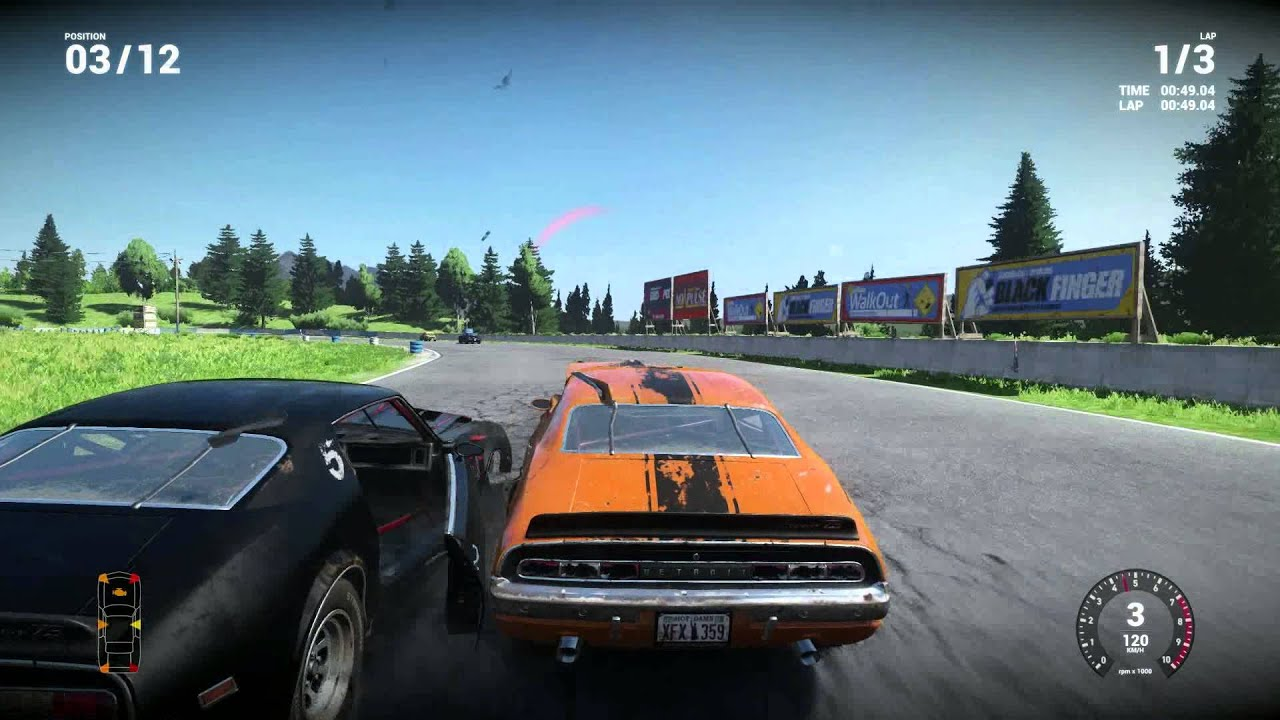 Wreckfest (Next Car Came) - First drives - YouTube