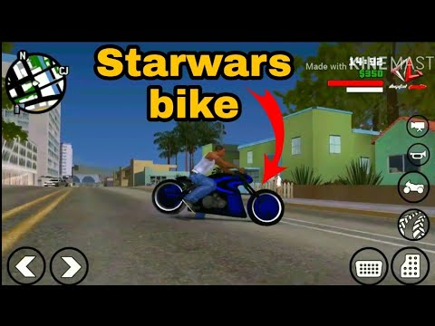 Starwars super fast bike modpack for gtasa Android Game by Android Gamer