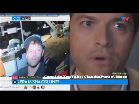 """José Bianco entrevistó a """"Misha Collins"""" y no lo reconoció """"TN de Noche"""" Programa completo"""