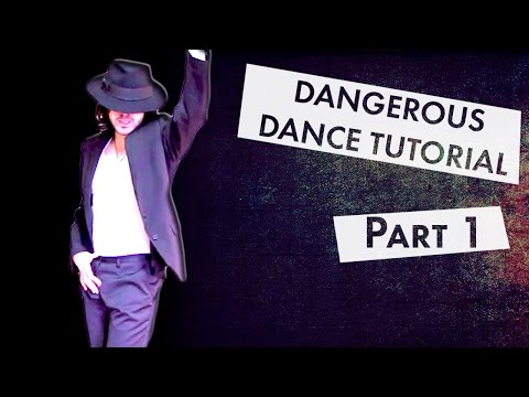 How to Dance Like Michael Jackson - DANGEROUS [Part 1]  [MIRRORED]