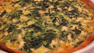 Betty's Super Spinach Feta Quiche