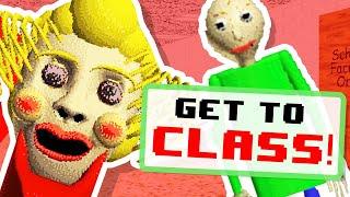 Baldi's NEW Teacher is CRAZY!