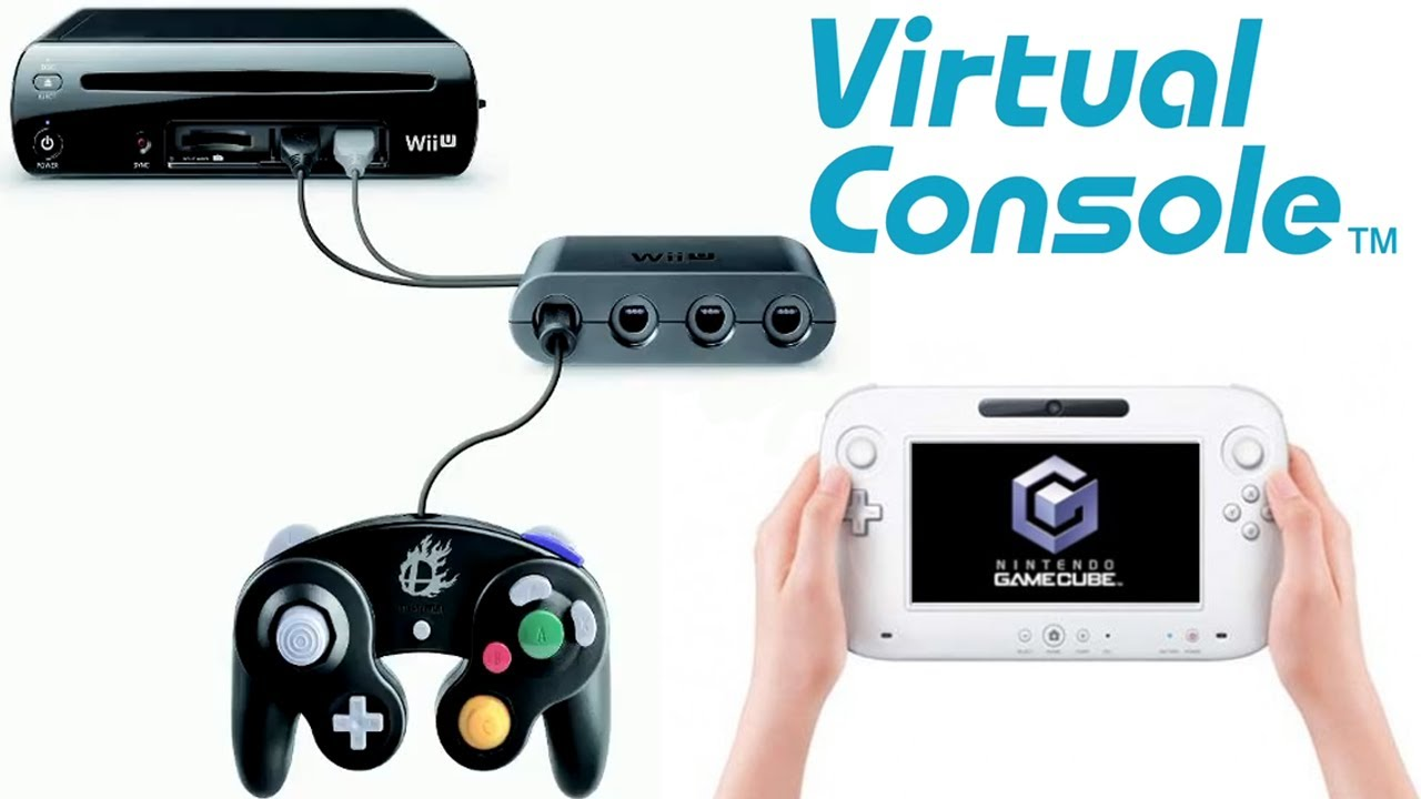 nintendo news gamecube controller and wii u virtual. Black Bedroom Furniture Sets. Home Design Ideas