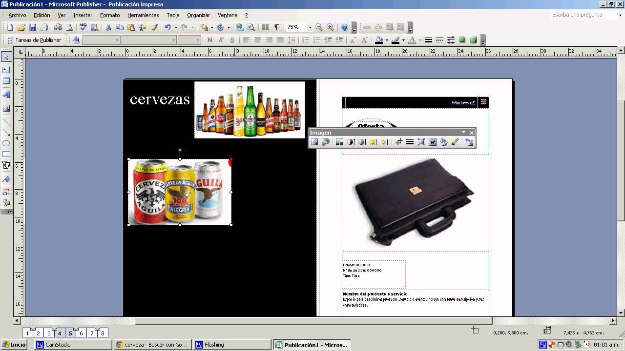 Tutorial como hacer cat logos en microsoft publisher for Modelo de catalogo de productos