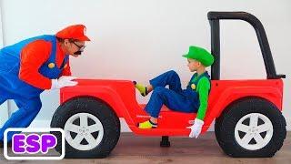 Vlad y su nuevo cuarto de autos