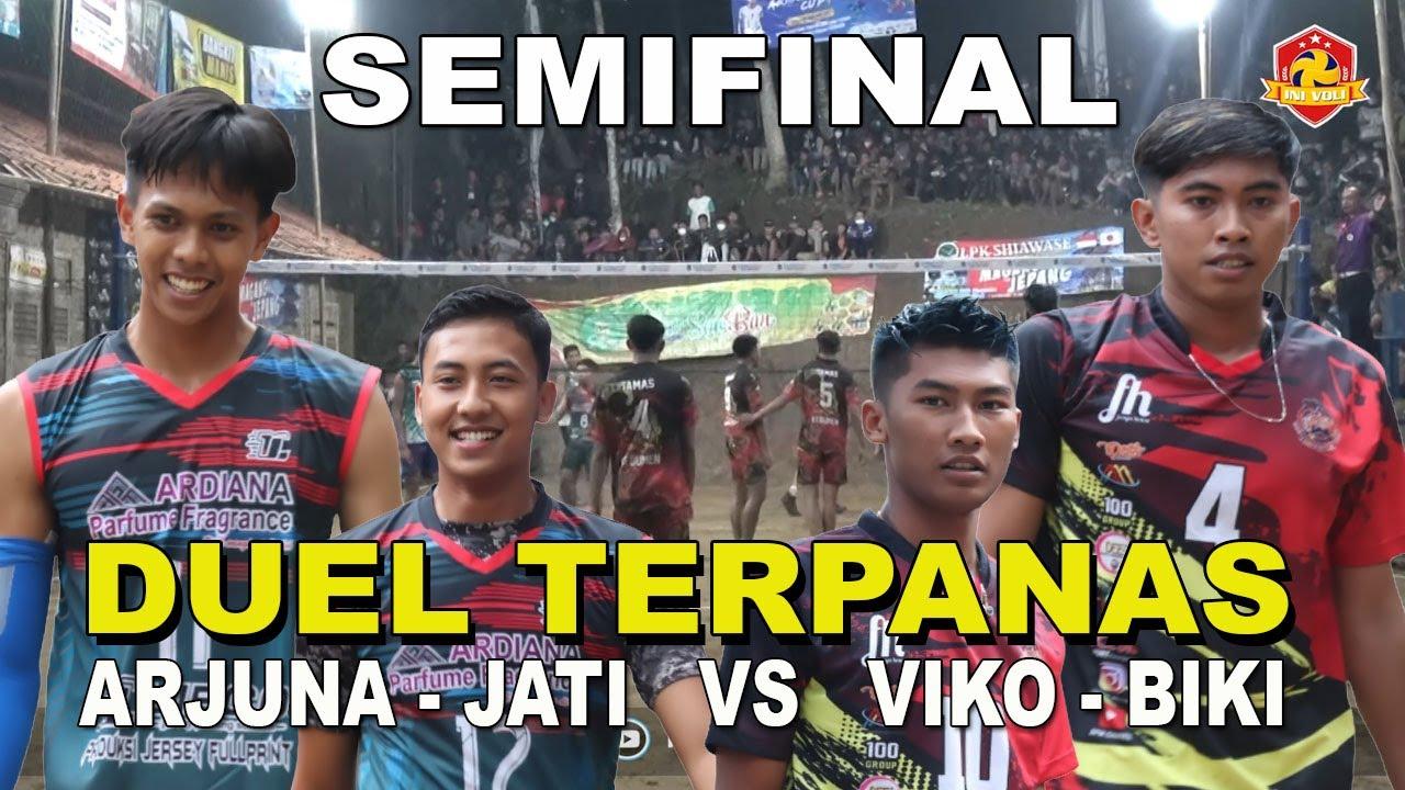 SEMIFINAL ! DUEL ARJUNA - JATI VS BIKI - VIKO [YELISTA VS TAMAS] OPEN TOURNAMENT ARIINDAH CUP 2021