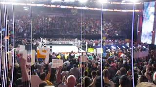 CM Punk last entrance ever in WWE at Royal Rumble 2014