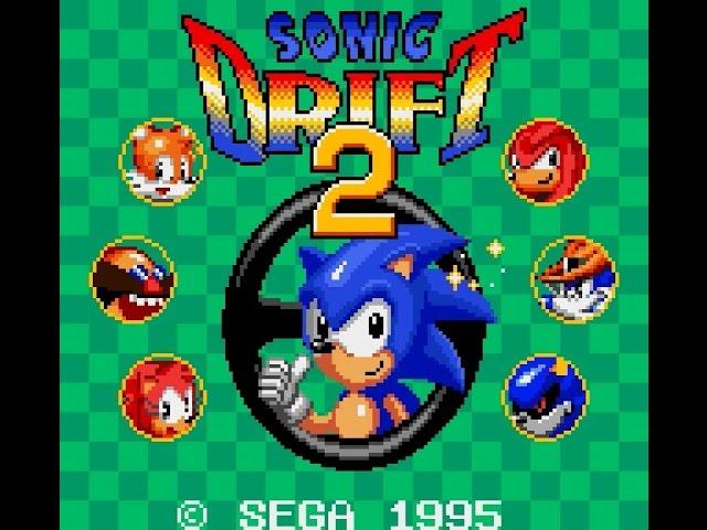 Game Gear Longplay [035] Sonic Drift 2