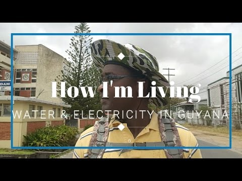 How I'm Living - Problem Solving Water & Electricity in Guya