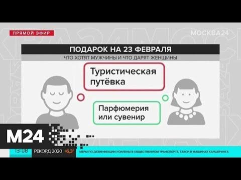 Что не стоит дарить мужчинам на 23 Февраля - Москва 24