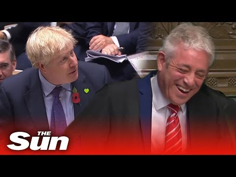 The PM's Funny Farewell To Speaker John Bercow