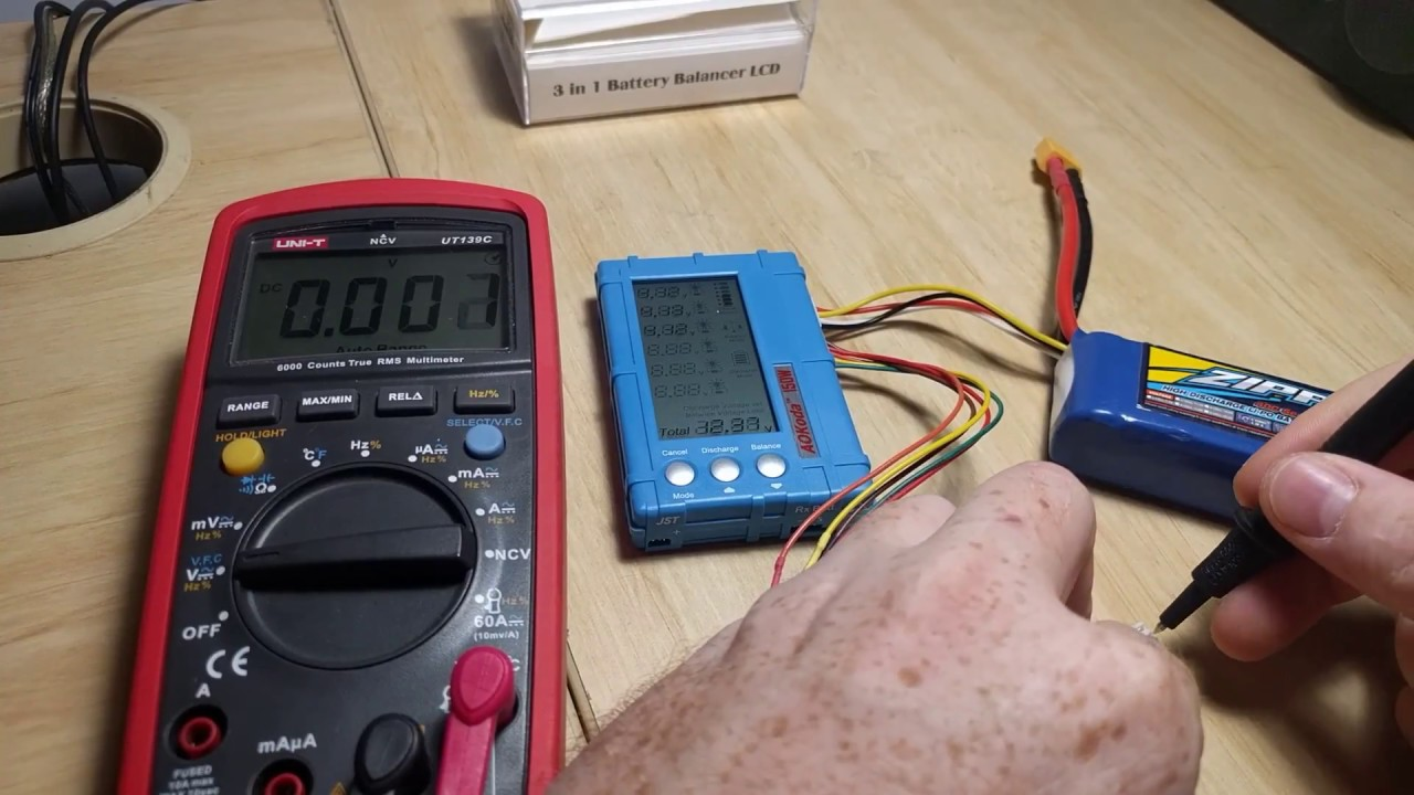 150w Lipo Discharger Balancer And Meter 3 In 1 Youtube Circuit