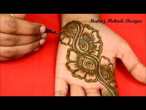Easy Simple Arabic Mehndi Designs For Hands Arabic Henna Designs