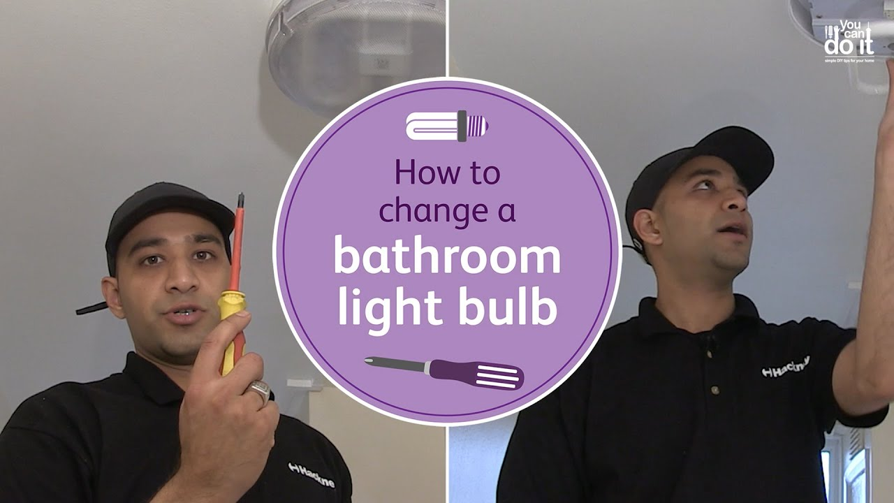 How to change a bathroom light bulb you can do it instructional how to change a bathroom light bulb you can do it instructional video arubaitofo Gallery