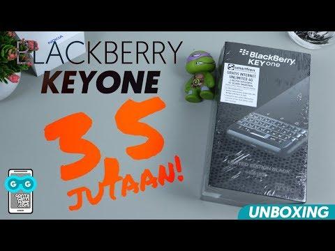 BB BANTING HARGA, Aa Jadi Bisa Unboxing Blackberry KeyOne Limited Edition Nih!