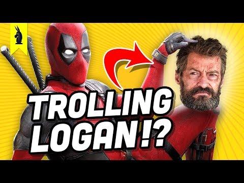 """Is DEADPOOL 2 a Two-Hour """"LOGAN"""" Joke? – Wisecrack Quick Take"""