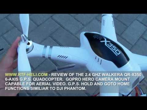 WWW.RTF-HELI.COM - WALKERA QR-X350 G.P.S. QUADCOPTER REVIEW