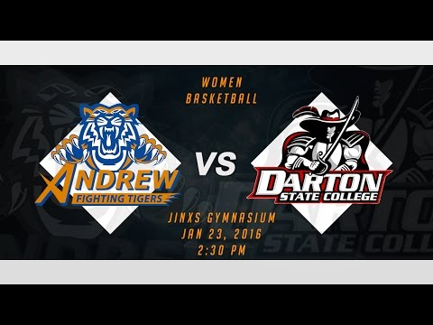 WOMEN BASKETBALL: ANDREW COLLEGE vs DARTON STATE COLLEGE