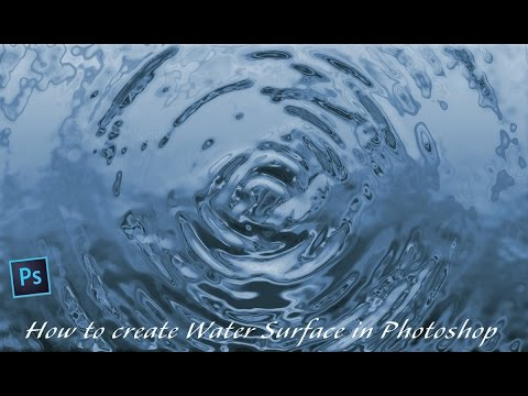 How to create Water Surface in Photoshop | Photoshop CC ...