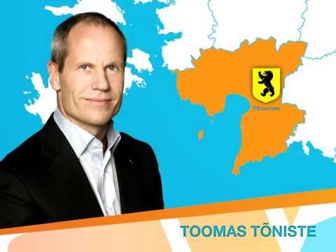 Toomas Tõniste - Valimisringkond nr 12 (Pärnumaa)