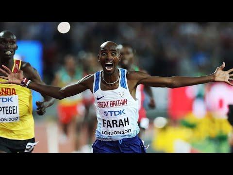 Mo Farah 10,000m Gold at London 2017 World Championships