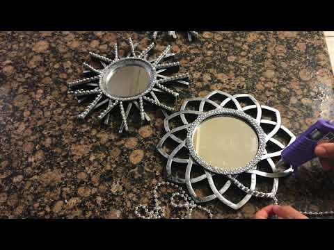 Dollar Tree Mirror DIY!!!