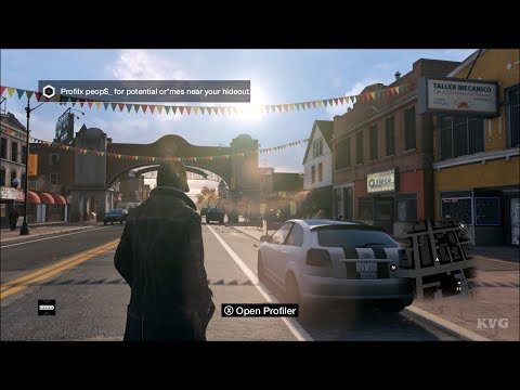Watch Dogs Gameplay (PC HD) [1080p60FPS]