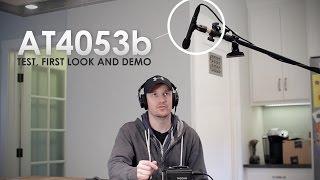 AT4053b Hypercardioid Boom Microphone