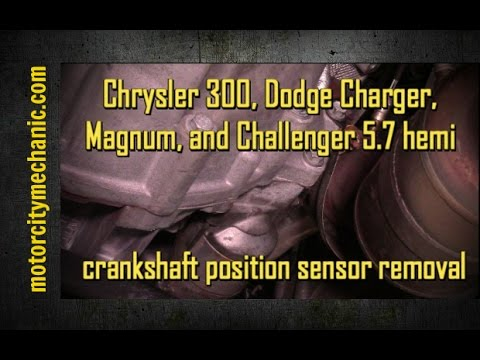 300, Charger, Magnum, and Challenger 57 Hemi crankshaft position