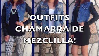 Outfits con Chamarra De Mezclilla (Peticion)