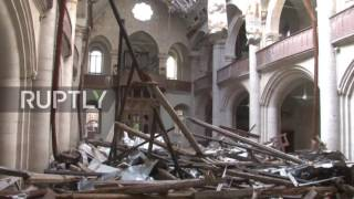 Syria: Aleppo Cathedral embraces first peaceful Christmas in years