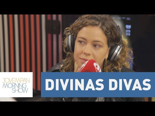 """Leandra Leal: """"As Divinas Divas falam muito do meio em que fui criada""""   Morning Show"""