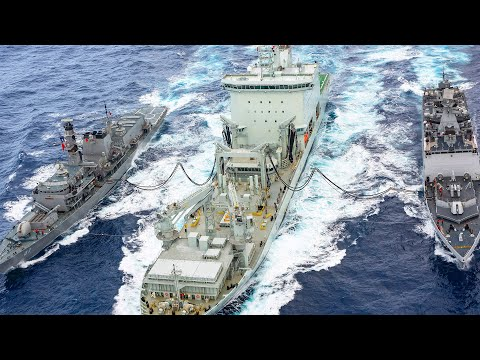How it Works: Refueling Ships at Sea