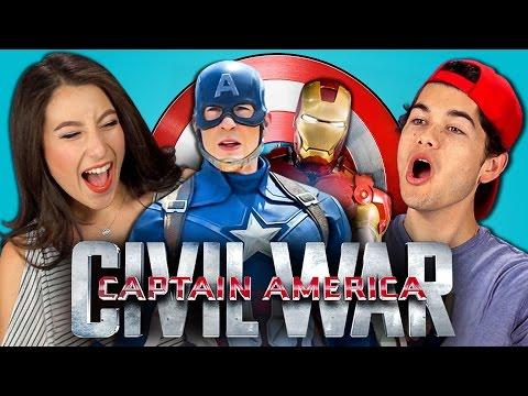 Teens React to Captain America: Civil War Trailer