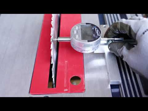 How I aligned the blade on a Chicago Electric 10 inch table saw from Harbor Freight