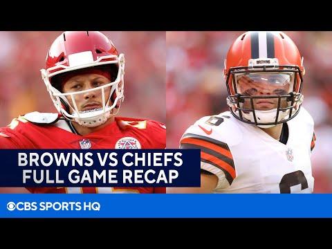 Browns-vs-Chiefs-Patrick-Mahomes-accounts-for-4-TDs-in-comeback-win-FULL-RECAP-CBS-Sports-HQ