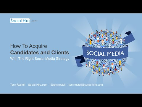 Social Recruiting Briefing - Social Media for Recruiters