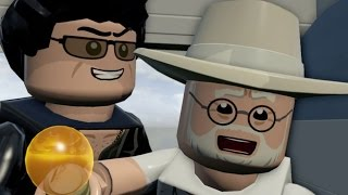 LEGO Jurassic World Walkthrough Part 1: Prologue - The Park is Open (Jurassic Park)