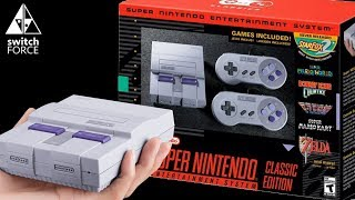 SNES Classic Edition OFFICIAL REVEAL! Full Games List + Price + Release Date