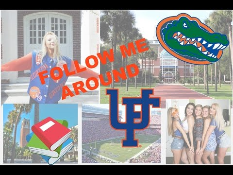 FOLLOW ME AROUND: UNIVERSITY OF FLORIDA