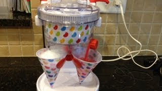 Jelly Belly Dual Electric  ice Shaver and Snow Cone Maker