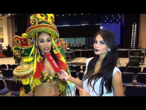 Miss Intercontinental 2015 - Miss Bolivia 2015 Interview