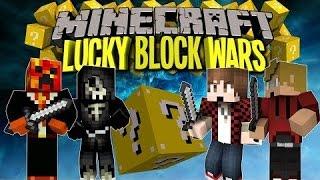 Minecraft Lucky Block Wars   ماين كرافت:ليش مافي مقاطع وليش ساحب على القناة